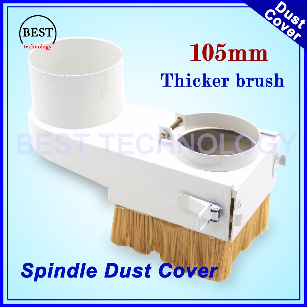 Spindle Dust Cover 105mm CNC Router Vacuum Cleaner Dust Proof Cover 105mm Diameter Dust Protection Drawer Type For CNC Machine