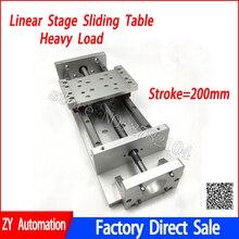 CNC раздвижной стол ход поршня 200 мм суппортом SFU1605 Ballscrew линейной стадии движения привода ЧПУ DIY фрезерные бурения