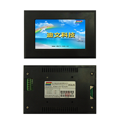 DMT80480T050_15WT DWIN 5 inch industrial serial screen touch screen waterproof outdoor industrial control with shell