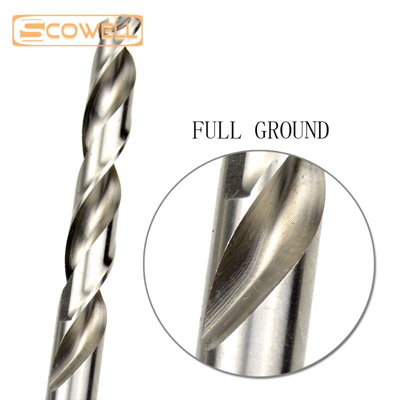 30 Off SCOWELL 25pcs HSS Split Tip Drill Bit for Metal High Speed Steel Drilling Bits Set 1 0 13mm Power Tools Accessories in Drill Bits from Tools