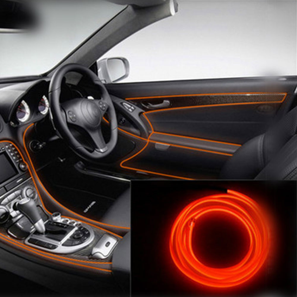 Hot Sale Cars Flexible Light Strip Car Lamp Interior Parts