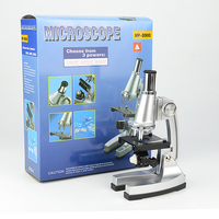 Educational Illuminated Microscope 100x, 400x, 900x Children Gift Microscope for Kids To Learn Science Christmas Birthday Gift
