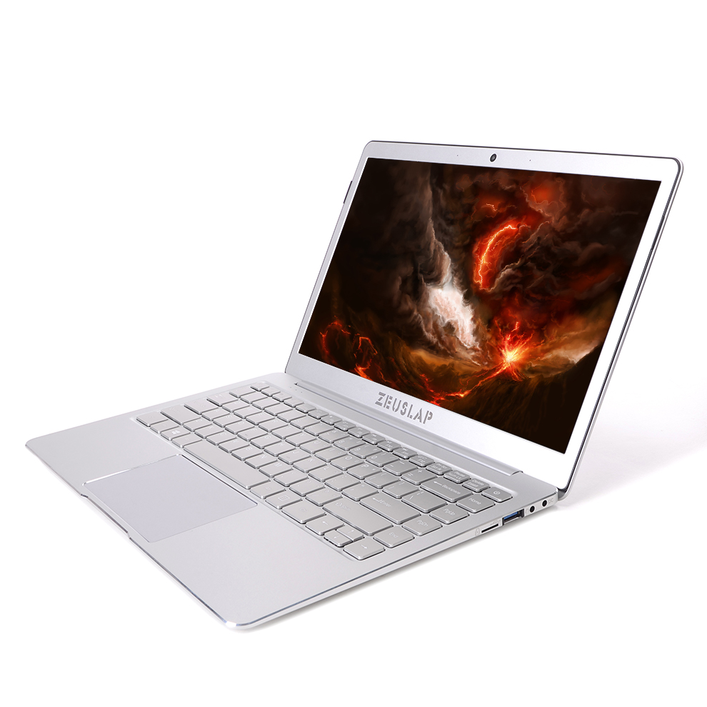 ZEUSLAP 13.3inch 8GB Ram M.2 SSD Quad Core CPU Windows 10 System cheap Ultrathin Laptop Notebook Computer