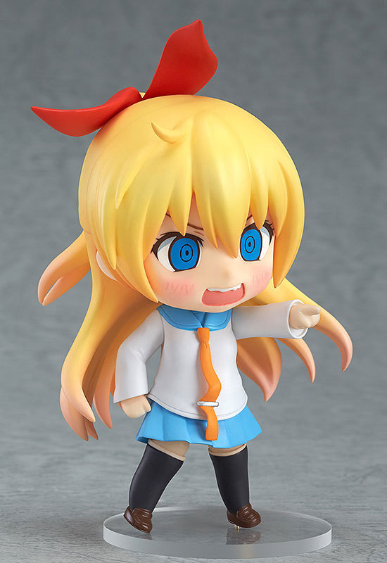 10cm Cute Nendoroid Nisekoi Chitoge Kirisaki Anime Action Figure PVC Collection Model toy juguetes brinquedos for christmas gift 1
