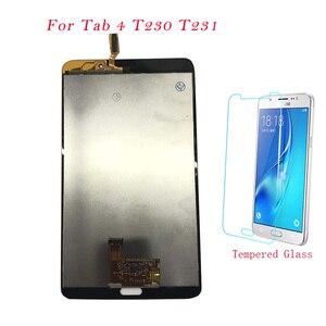 Тесты планшет с жидкокристалическим дисплеем для samsung Galaxy Tab 4 T230 T231 ЖК-дисплей Дисплей Сенсорный экран дигитайзер в сборе для samsung Tab 4 T230 T231 ЖК-дисплей