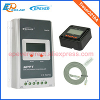 20A Tracer2210A MPPT Solar Battery Charger With MT50 Remote Meter 12v 24v Auto Type Max Pv