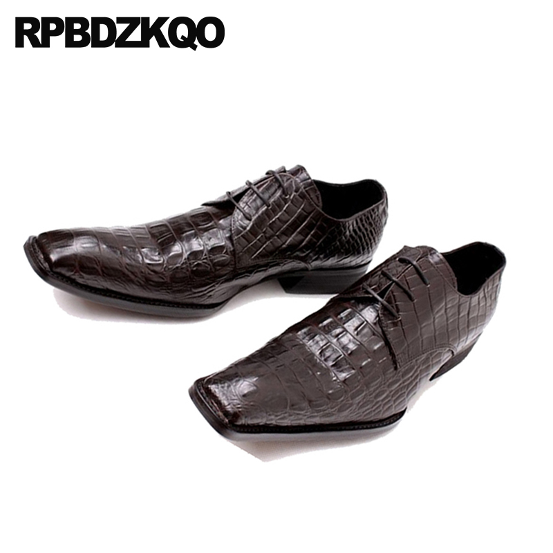 Formal Shoes Zapatos Hombre Classic Python Skin Men Shoes Leather Office Formal Shoes Slip On Party Dress Wedding Loafers Runway Shoes 2018