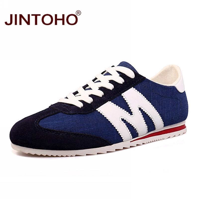 JINTOHO Brand Fashion Men Casual Shoes