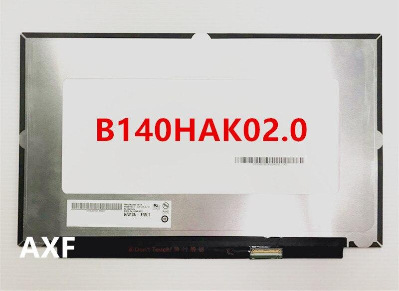 B140HAK02.0 светодиодный экран LCE дисплеем с сенсорной Матрица для ноутбука 14,0 FHD 1920X1080 Замена