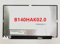 B140HAK02.0 LED screen LCE display with touch matrix for laptop 14.0 FHD 1920X1080 replacement
