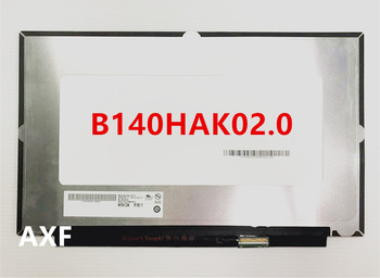 """B140HAK02.0 LED screen LCE display with touch matrix for laptop 14.0"""" FHD 1920X1080 replacement"""