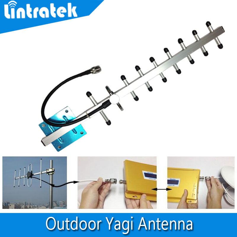 9dBi 3G 4G antenna 3G yagi antenna 4G 3G outdoor antenna 4G LTE external antenna with N female for Signal Repeater Booster