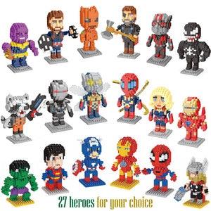 LNO Nanoblocks Marvel Venom Ed