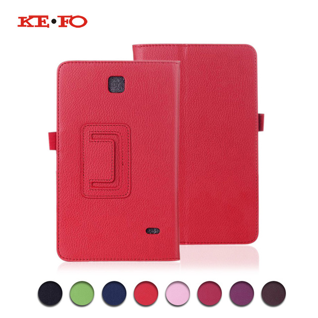 new arrival dee69 52f01 US $4.6 6% OFF|For Samsung tab t230 Cover SM t231 SM T230 PU Leather Flip  Case For Samsung Galaxy Tab 4 7.0 T230 T231 T235 For Samsung SM t231 -in ...