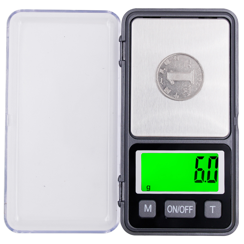 10pcs lot 1000g Electronic Pocket Digital Jewelry Kitchen Scale1kg 0 1g large screen Weight balance with