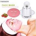 Automatic Facial Mask Machine & Face Steamer Natural Organic Fruit Mask Maker Steamer DIY Facial Mask Collagen Skin Care Tools
