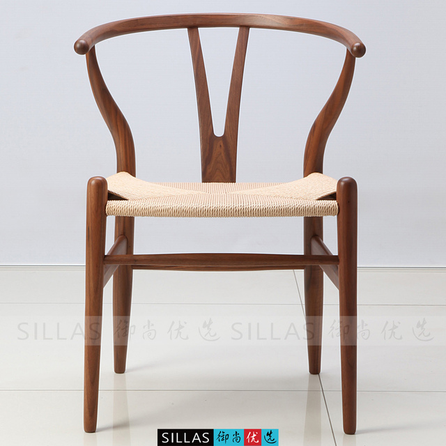 Y Chair Walnut Furniture Wood Chairs Armchairs Lounge Chair Bone Fork  Minimalist Classic American Designer Dining