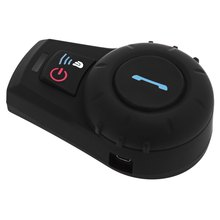 Hot sale New EU Plug 500M Waterproof Motorcycle Helmet Bluetooth Intercom Kit for Motorcyclist and Skiers Phone Call and Music