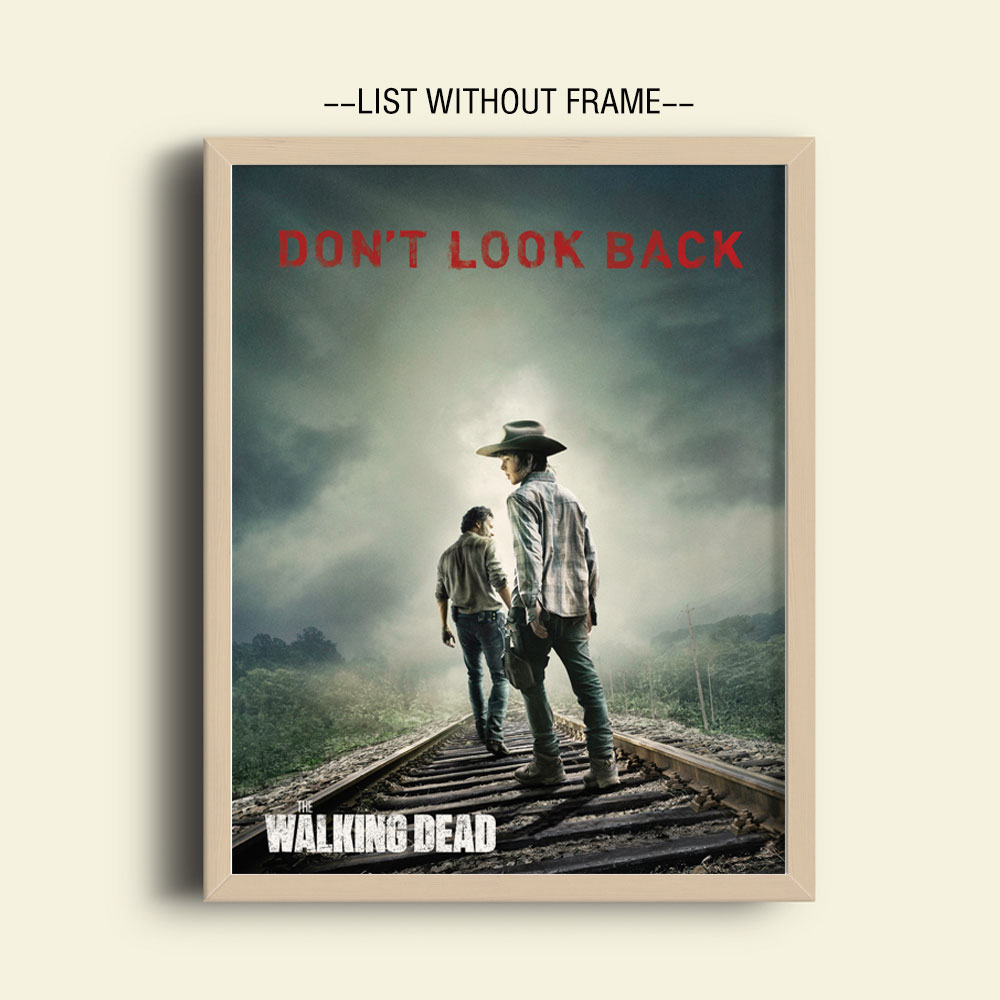 The Walking Dead Poster Don't Look Back Art Print Posters
