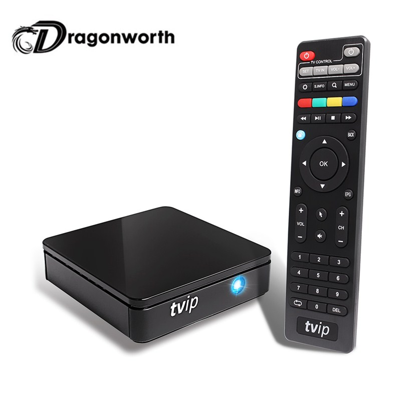 Android TV Box TVIP S805 Amlogic Quad Core 410 412 With Linux Dual wifi 1G8G media player Android KK 4.4 Set top box