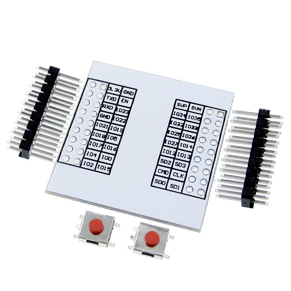ESP-32S Adapter Board Pinboard Convertor Module for ESP-32S Wireless WIFI Module