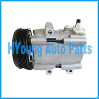 4502836 4681621 1447718 1447718 auto ac Compressor for Ford Transit 2.4 2000 2006 YC1H19D629AA YC1H19D629AB FS10 7pk 127mm|A/C Compressor & Clutch| |  -