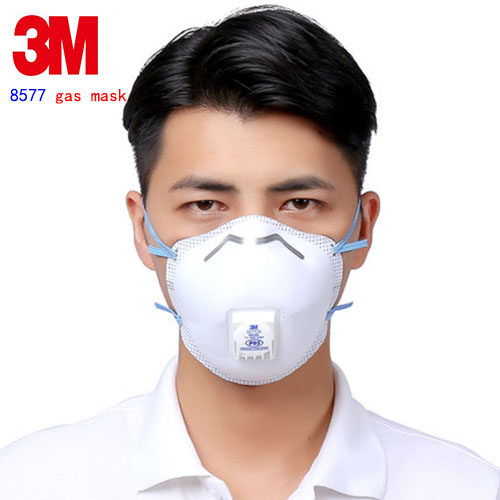 3M 8577 P95 protective mask Hot and humid surroundings Special masks against Organic smell formaldehyde Automobile exhaust mask security labour protective mask equipment bicyle masks against the warm full face mask pirates of the caribbean dust mask fc