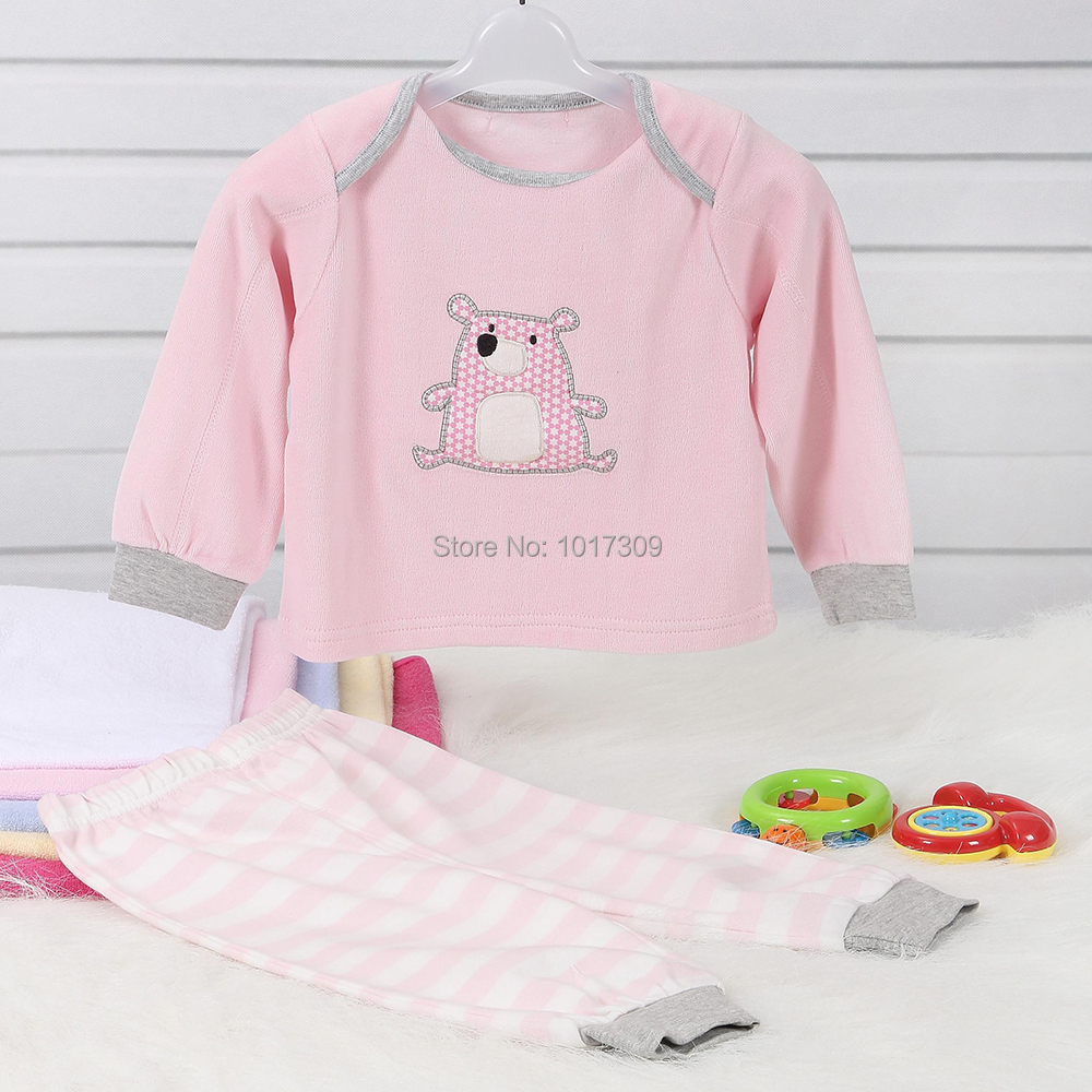 aliexpress : buy cute baby boy girl clothes set long sleeve baby