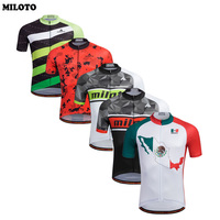 MILOTO Pro Team Men Cycling Jersey Ropa Ciclismo Bike Short Sleeve Clothing Bicycle Sports Shirts Top