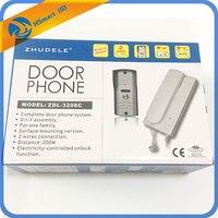Wired Two Way Intercom Home Security System Audio Doorbell Doorphone