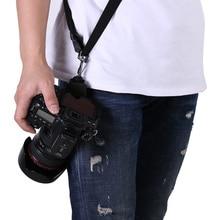 Черный Быстрой Настройки Цифровой Камеры Плеча Шейный Ремень Гибкий Одноместный Плеча Sling Пояс Ремень Фотокамеры Аксессуары