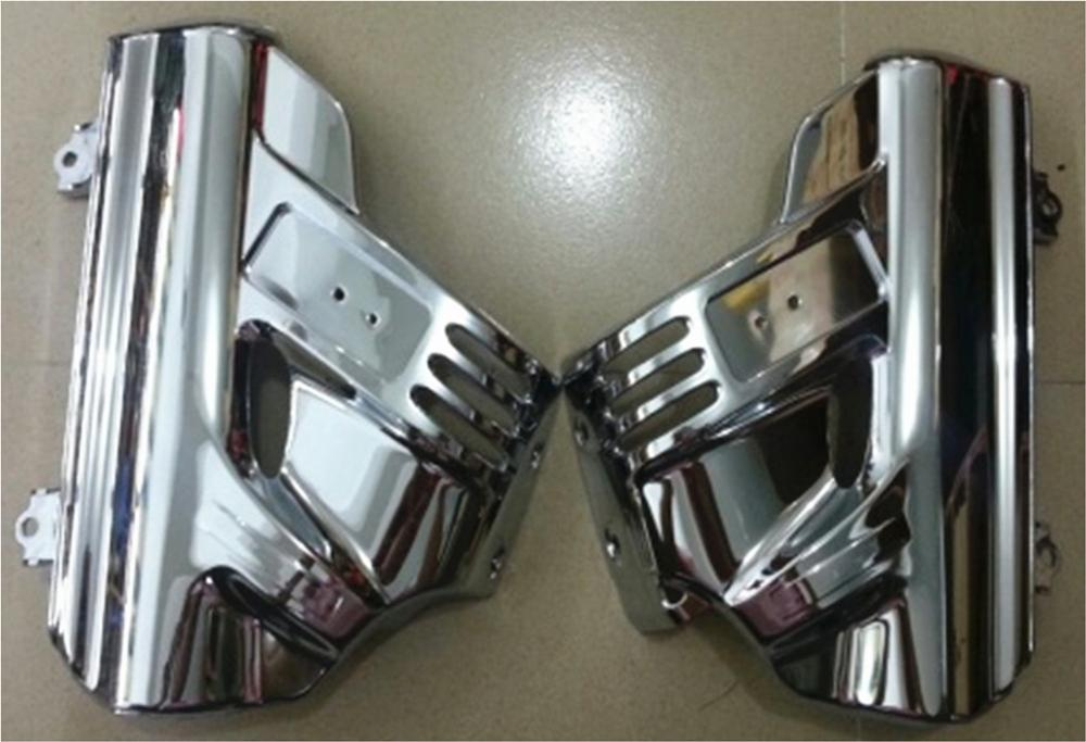Side Front Fender Lower Fork Covers Guards W// Airbag For Honda GL1800 2001-2011