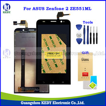 Original 5.5″LCD For Asus Zenfone 2 ZE551ML Z00AD Z00ADB Z00ADA Display with Touch Screen Digitizer Replacement Parts + Tools