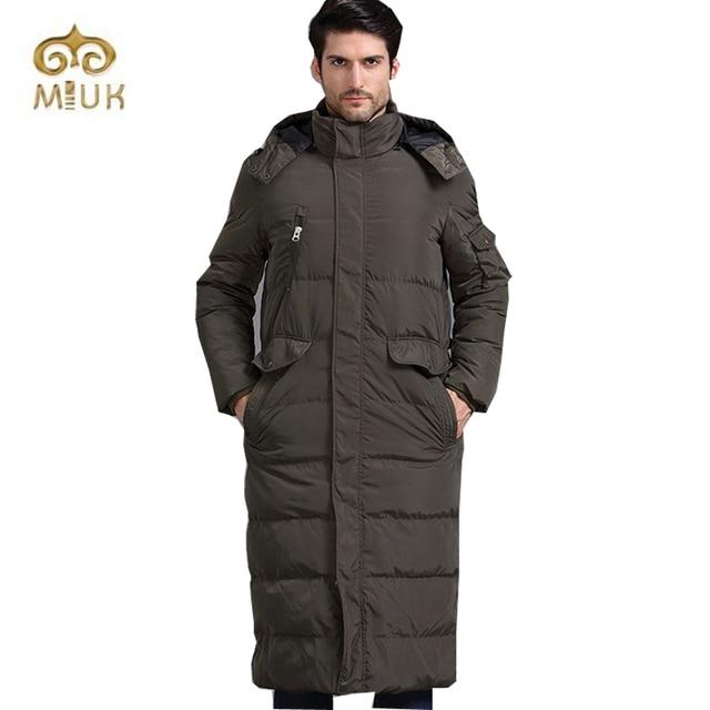 Blanc Duvet de Canard Casual Longues Hommes Grande Taille XXL Taille Noir  Armée d hiver 1b9496dd673
