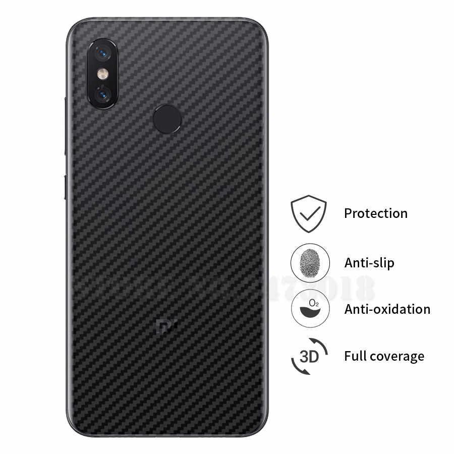 LA mi U 5 шт./лот углеродного волокна Экран Защитная пленка для Xiaomi mi 9 8 SE A2 Lite Pocophone макс 3 красный mi Примечание 7 6 Pro S2 фильм