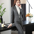 New Arrivals Shawl Collar Two Piece Ladies Formal Pant Suit For Wedding Office Uniform Designs Women Business Suits For work