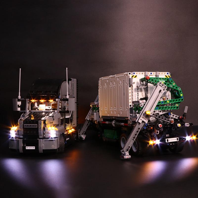 Truck, For, Mack, Box, Light, Blocks