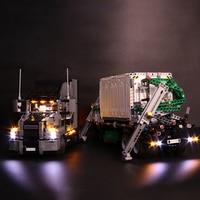Led Light Set For Lego Technic 42078 Compatible 20076 the Mack AnthBig Truck Building Blocks Bricks Toys(LED light+Battery box)