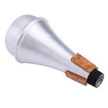Aluminium Straight Trumpets Mute For Jazz Instrument Practice Beginner Hot Sale