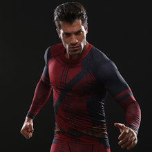 Fun Deadpool 2 3D Printed T shirts Men Compression Shirt 2018 New Arrival Comics Cosplay Costume Clothing Long Sleeve Tops Male(China)