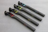 New ASIACOM Full Carbon Fiber Bicycle Seat Post MTB Road Bike Seatpost Offset 5 25mm Broken