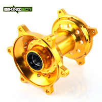 BIKINGBOY CNC 1 Set Rear Wheel Green Hub 36 Holes For SUZUKI RMZ 250 07 08 09 10 11 12 13 14 15 16 RMZ RM-Z 450 RM-Z450 05-16
