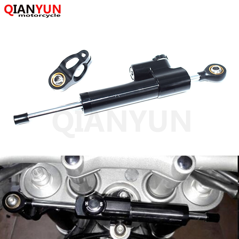 Motorcycle Adjustable Accessories Damper Stabilizer Damper Steering For SUZUKI GSF650 BANDIT GSX1250 F SA ABS GSX1400 GSX650F