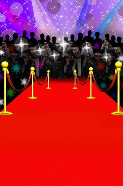 Red Carpet Backdrop