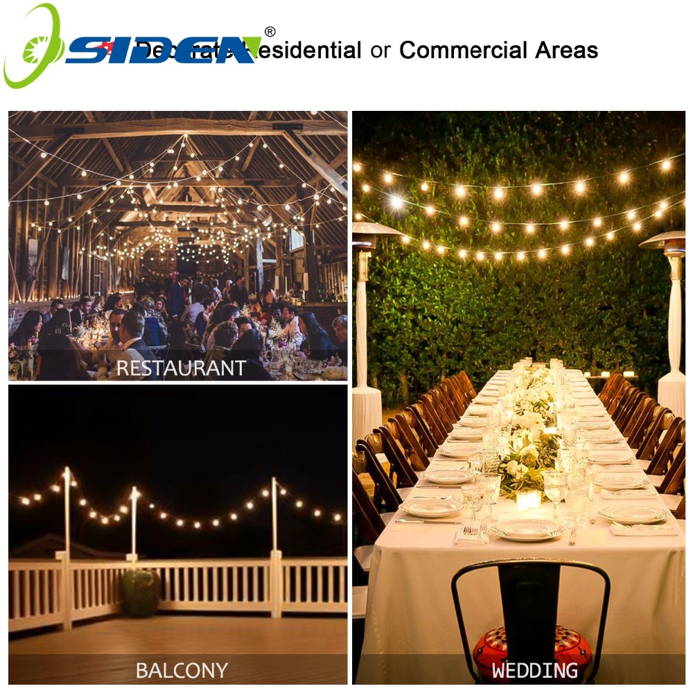20M 200 LEDs 110V 220V waterproof IP65 outdoor multicolor LED string - Pencahayaan liburan - Foto 5