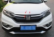 De alta Calidad Para Honda CRV CR-V 2015 2016 Frontal de Acero Inoxidable Tapa Del Motor de La Cubierta Moldura de Enmalle 1 Unids