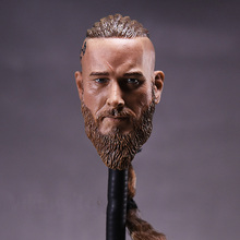 1/6 Male Sculpt Model Vikings Braid Ancient Solider Head Carving Model for 12 Figure Doll Action Figure Accessory 1 6 scale ancient general head sculpt zhao yun head model fit 12 solider doll for 12 man action figure toys