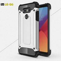 For LG G6 Case Anti Knock TPU PC Plastic Dual Heavy Duty Armor Shell Cover For