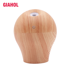 250ml Air Humidifier Essential Oil Diffuser Aroma Lamp Aromatherapy 7Color LED Electric Aroma Diffuser Mist Maker for Home-Wood набор aroma home