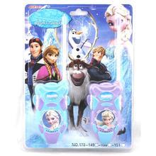 #e toy,walkie elsa intercom interphone talkie princess electronic gifts girl game